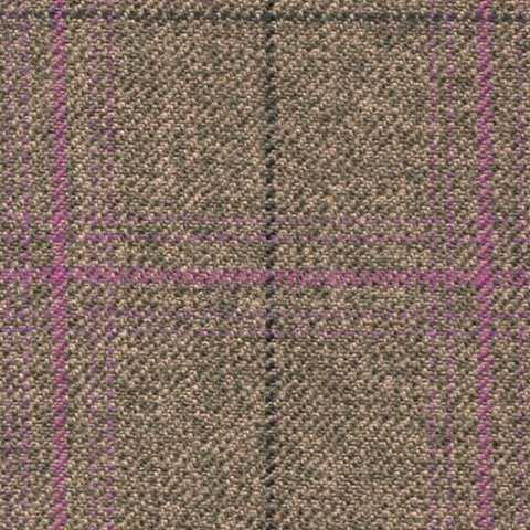 sand/sage mix /lavender check