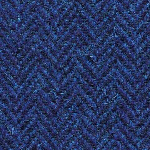 French Blue Herringbone