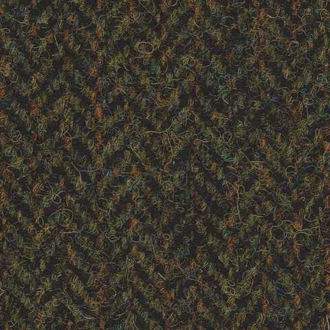 Forest Green Herringbone