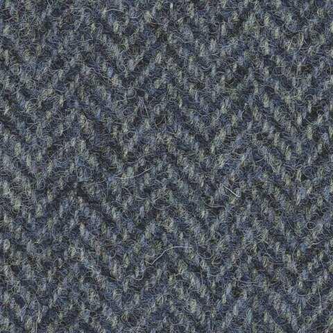 Slate Blue Herringbone
