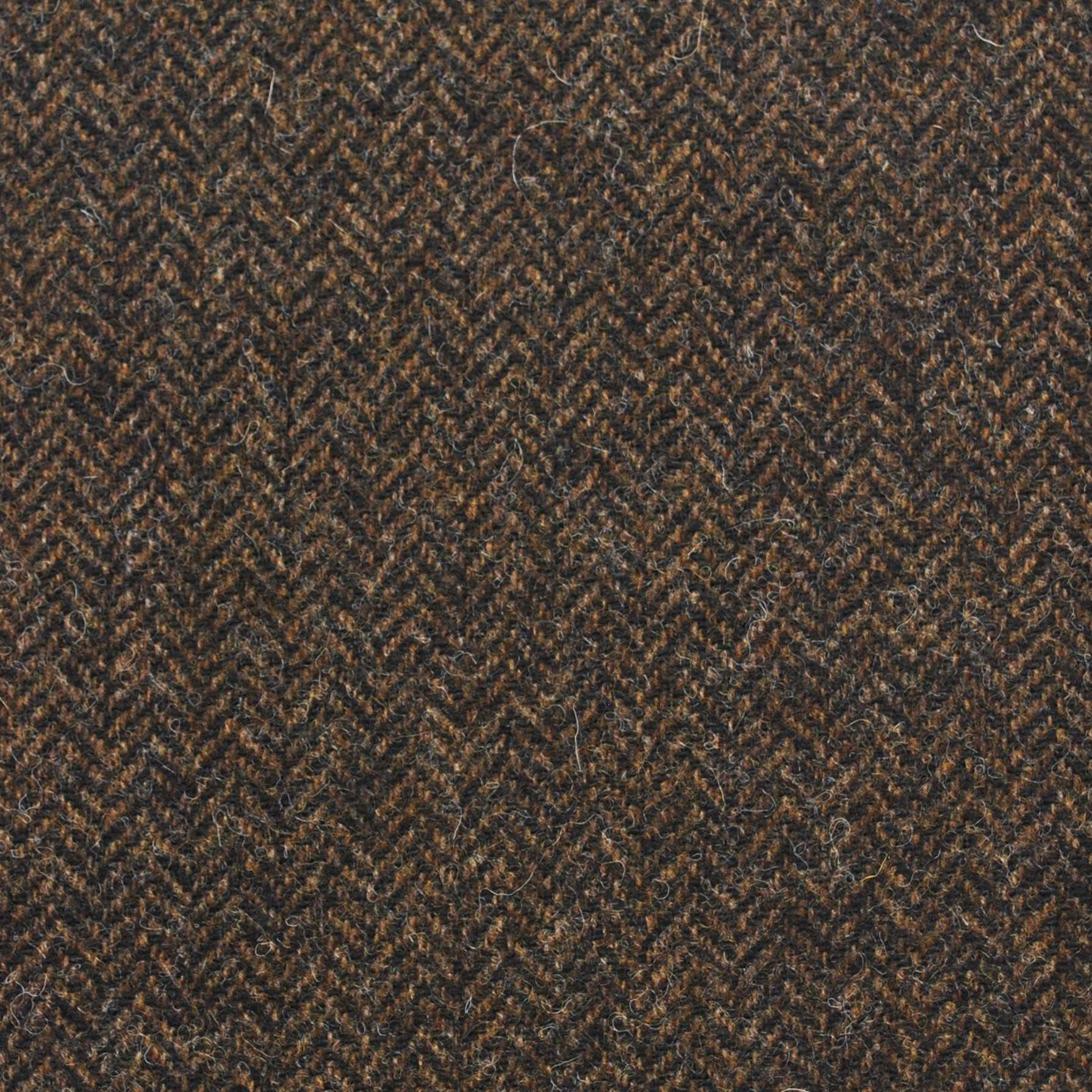 Dark Brown Mix Herringbone